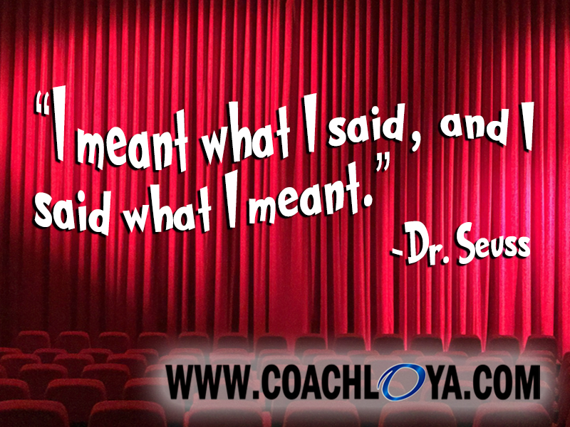 Seussical Sentiments