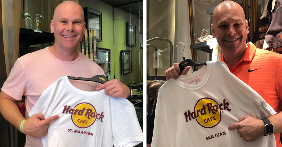 Hard Rock Cafe t-shirt image