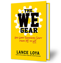 The WE Gear book cover