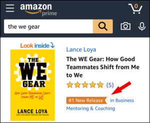 Image of The WE Gear book cover